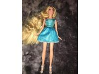 Barbie/repunzel doll