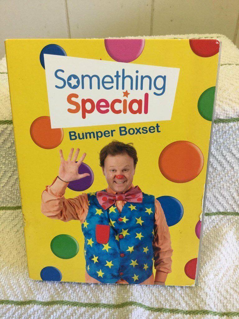 MR TUMBLE - SOMETHING SPECIAL BUMPER BOX SET DVD.