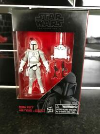 Star Wars Black Series 3.75 inch Boba Fett Figures Toys
