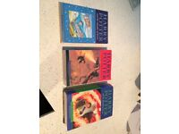 3 x Harry Potter books, Half Blood Prince, Goblet of Fire, Chamber of secrets