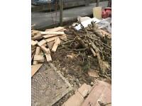 Free firewood.Colehill