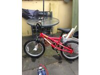 one girls bike one boys bike. For aged 5-10 years of age good condition.