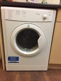 Indesit Tumble Dryer excellent condition only 6 months old. We need a condenser for new property