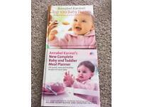 Annabel Karmel weaning and toddler feeding books