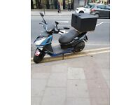 Scooter Lexmoto Titan 125 Quick Sale as going abroad only £1100