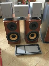Panasonic surround speakers excellent condition