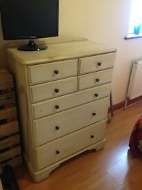 Drawers and 2 bedside table coordinate