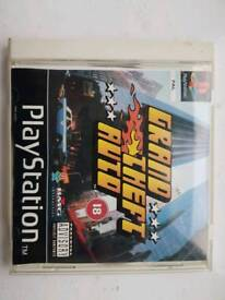 Grand Theft Auto PS1 Game