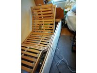 electic single bed