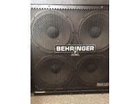 Behringer Ultrastack BG412H (No Amp)