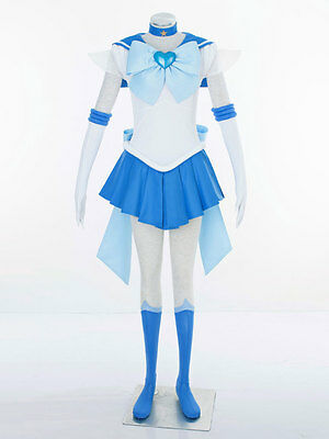 Cosplay Sailor moon sailor mercury Mizuno Ami Super S Kleider Costumes - Sailor Moon Mercury Kostüm