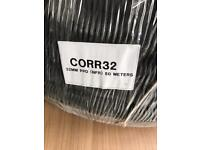 32mm x 50m Black Flexible Conduit / copex, wrapped new,