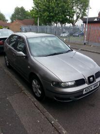Seat Leon 1.6 petrol,8 mounths Mot,new 4 tyres.