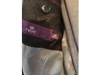 Grey men's next suit