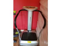 VIBRO PLATE. GOOD CONDITION USED EVERYDAY.