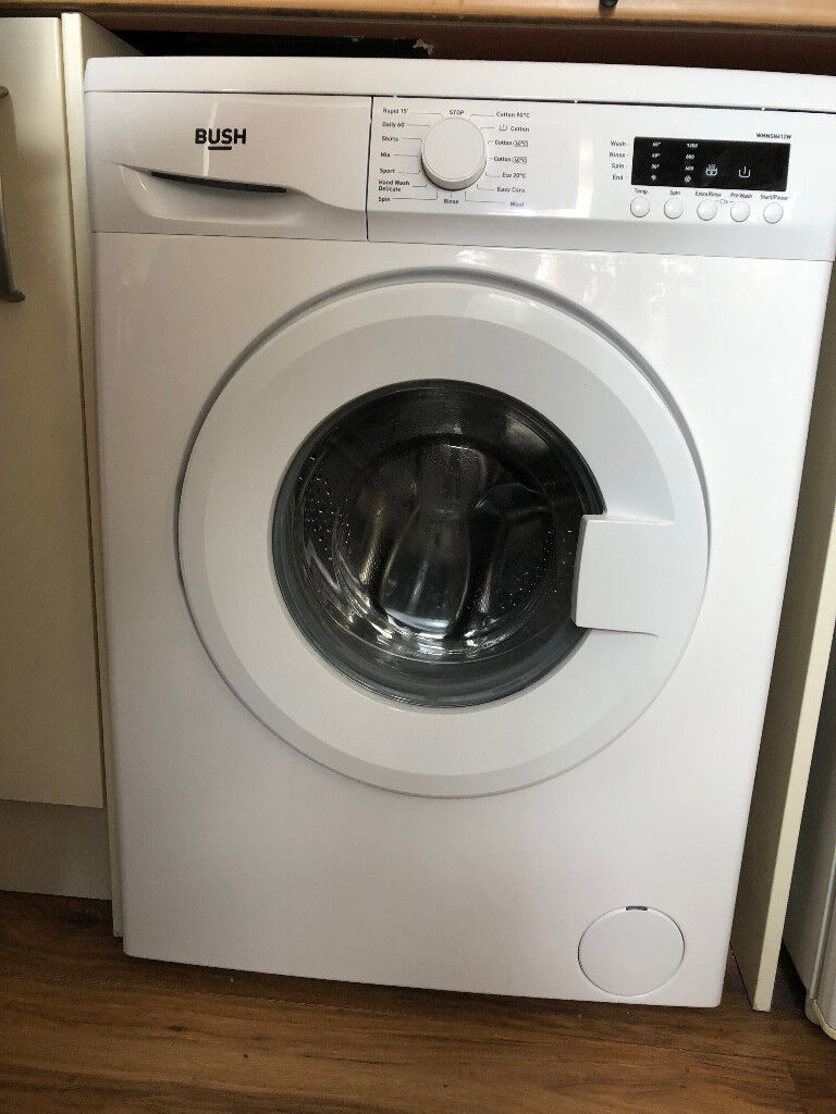 BUSH Washing Machine WMNSN612W - COLLECTION ONLY