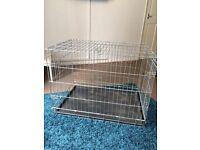 LARGE metal dog puppy cage