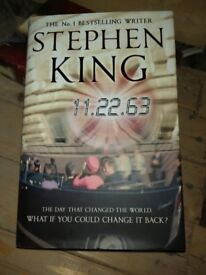Stephen King 11-22-69 Hardback Book - Read Once Perfect Condition
