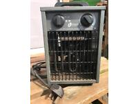 Industrial electric space heater 220-240 volt