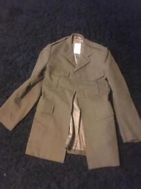 British Army jacket H Edgar's and sons size 35