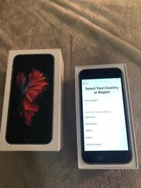 iPhone 6s 64GB in silver unlocked sim free