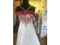 Wedding dress size 14-16