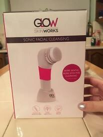 BRAND NEW!! Glow skin works sonic face brush