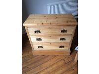 Stunning antique chest of drawers