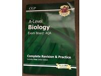 Used, A Level Biology revision book for sale  North Yorkshire