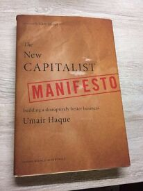 The New Capitalist Manifesto: Building a Disruptively Better Business (hardcover, good condition)