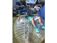 Body zorbs for bubble football