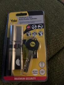 Yale platinum lock