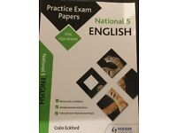 National 5 English Practical Exam Papers