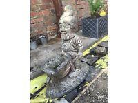 Beautiful dwarf ornament statue