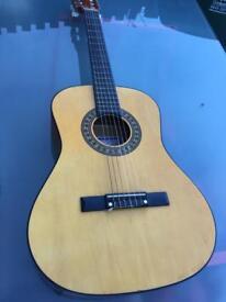 HERALD NO HL34 John Hornby Skewes Co. 6 STRING GUITAR 3/4 size