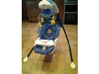 FisherPrice Aquarium Cradle Swing