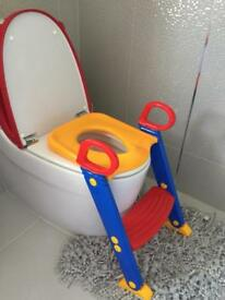 Baby toddler Potty training Toilet step ladder