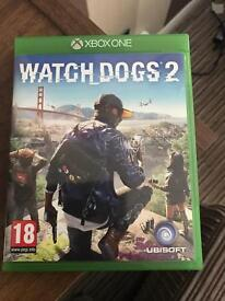 Xbox one watchdogs 2 game.
