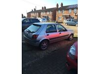 Ford Fiesta Zetec 1.25, MOT until July 2018..