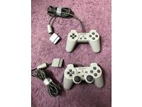 PlayStation One Controllers x2