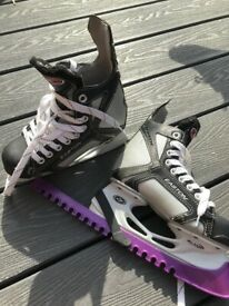 Kids Easton ice skates size 1 good condition in Swindon