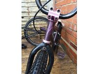 """Verde cadet 20"""" custom bmx has had new everything since bought new"""