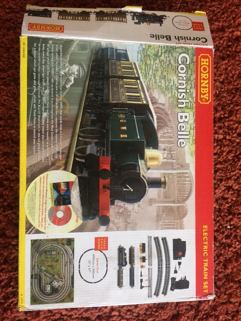 Hornby Cornish Bellein Woodthorpe, NottinghamshireGumtree - Hornby Cornish belle train set excellent condition but please note Missing straight sections of track and power track everything else is there collection only thanks for looking