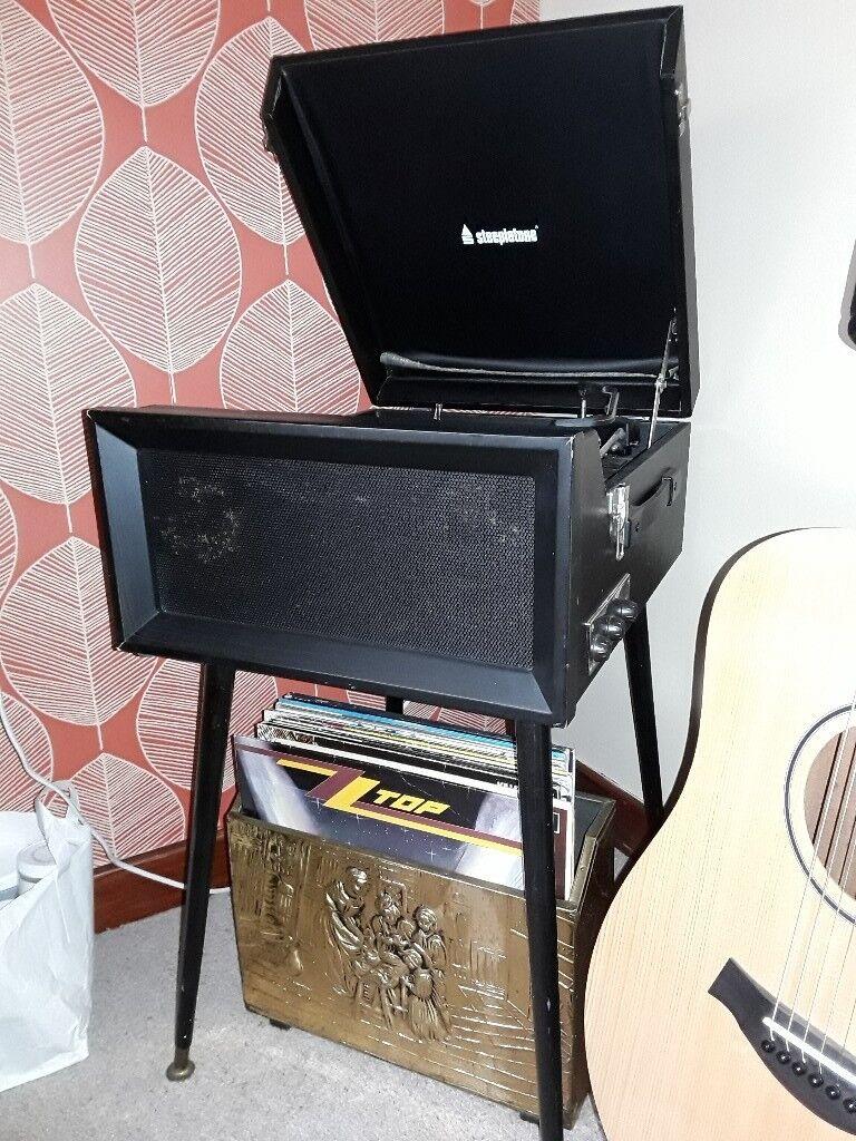 Retro Steepletone Record Player