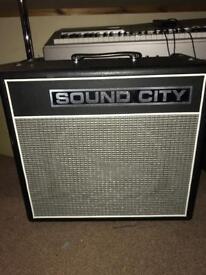 Sound City 30C mark 6 guitar amp
