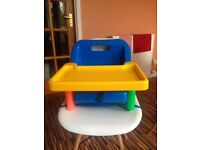 Safety 1st strap on high chair/booster seat