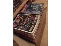 Hundreds of 2000AD and Judge Dredd comics & magazines