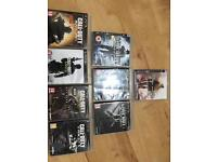 Sony Playstation 3 with all games Cds