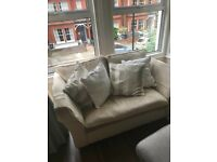 Laura Ashley 2 seat fabric sofa