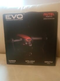 Autel Evo unopened with extra battery and carry bag